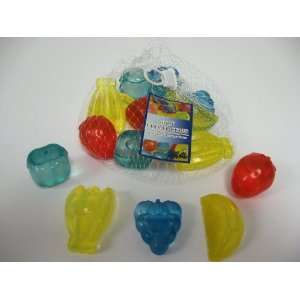 Fruit Shaped Reusable Plastic Ice Cubes