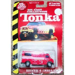 TONKA RESCUE 4 AMBULANCE 1999 NEW/BOX: Everything Else