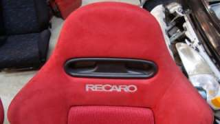 Acura Type on Jdm 2002 2006 Acura Rsx Type R Dc5 Oem Red Recaro Seat With Rail Honda