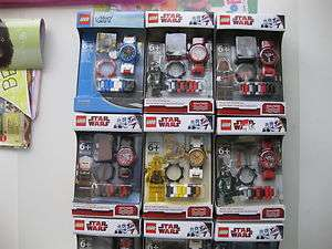 LEGO watch Star Wars City Police Toy Story Atlantis Miners Space