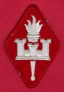ARMY ENGINEER CENTER & SCHOOL SHOULDER PATCH