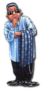 Homies Series 2 keychain ~Mr Clean ~ single figure   Rare & Hard to