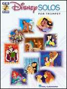 Disney Solo Trumpet Play Along Sheet Music Song Book CD
