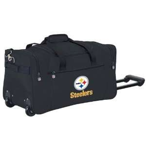 Pittsburgh Steelers NFL Rolling Duffel Cooler by