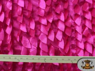 HOT PINK Mango Leaves Fabrics / 58 60 Wide / Sold by the yard