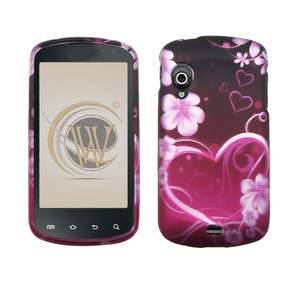 SAMSUNG Stratosphere VERIZON CELL PHONE BLACK PINK H HARD COVER CASE