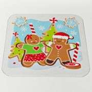 Christmas Holiday Vinyl Placemats Snowman Gingerbread Man 4 Styles