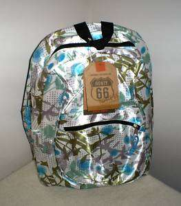 Bookbag •Backpack•By Route 66 • Flowers & Butterfly Design