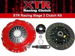 XTR STAGE 2 RACING CLUTCH KIT 96 01 CHEVY S10 GMC SONOMA 96 99 ISUZU