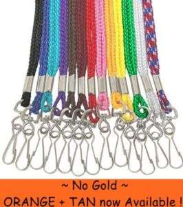 LOT 100 NEW NECK Lanyards~STRAP~for ID/Badge (Lanyard)