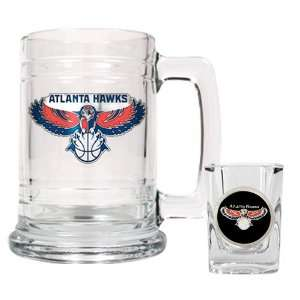 Atlanta Hawks NBA Boilermaker Set   Primary Logo Kitchen