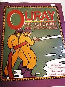 OURAY COLORADO ABC COLORING & ACTIVITY BOOK
