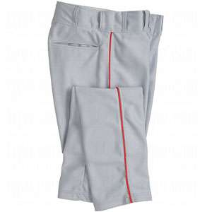 Mens Pro Style Piped Baggy Baseball Pants (Baseball/Softball)