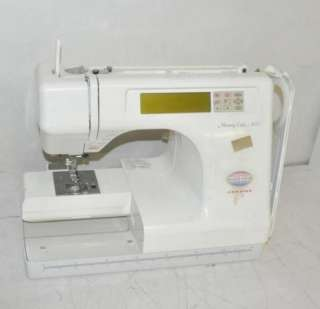 JANOME MEMORY CRAFT 5000 EMBROIDERY SEWING MACHINE
