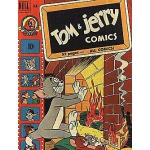 Tom and Jerry Comics (1948 series) #78: Dell Publishing
