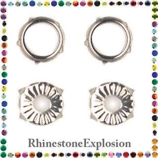RHINESTONE SETTINGS Rim Prong Hand ot Tool Set ss16 48