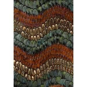 Biscayne Peacock / Pheasant by F Schumacher Wallpaper