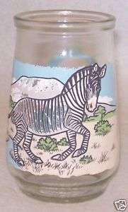 "Welch's Glass Endangered Species Series ""The Zebra"""
