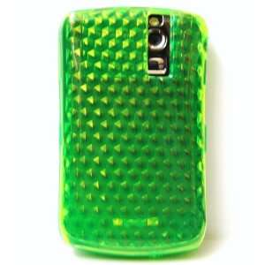 New Lime Green Hexagon Pattern Hard Silcone Skin