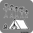 Custom Stick People Figure Family Stickers Decal Car
