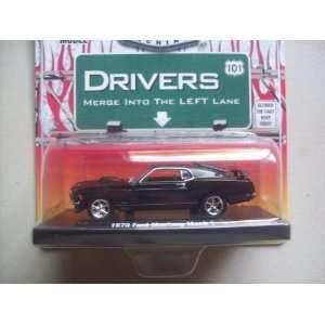 M2 Machines Drivers R2 Black 1970 Ford Mustang Mach 1