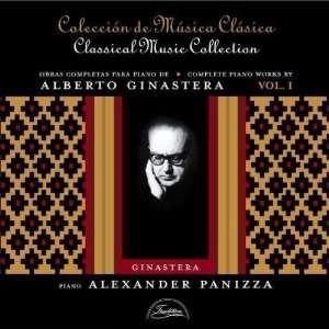 Obras Completas Para Piano #1 Alexander Panizza, Alberto