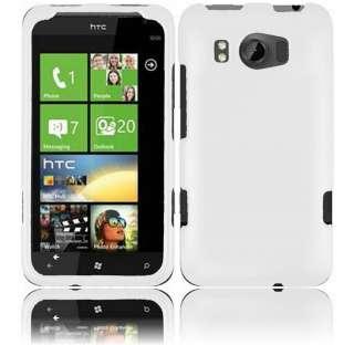 HTC X310e Titan Rubberized Cover Case   White