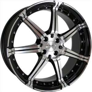 Kyowa Racing 518 KR 518 Black Wheel with CNC Machined Finish (17x7.5