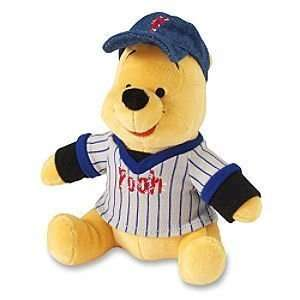 Winnie the Pooh Baseball Player Bean Bag Beanie Plush Toys & Games