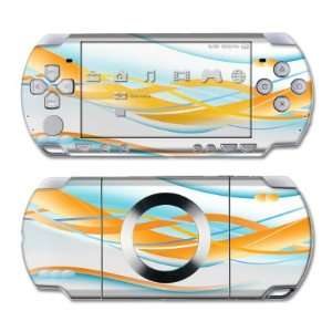 Double Helix Orange Design Skin Decal Sticker for the PS3