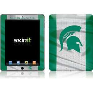 Michigan State University Spartans skin for Apple iPad