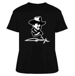 John Wayne Western T Shirt
