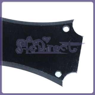 NEW Guitar Parts Black PVC Truss Rod Cover w/ 3 x Screw