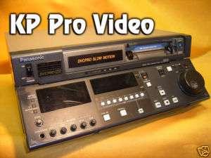 Panasonic AJ D940 NTSC/PAL DVCPRO 25/50 Slow Mo player