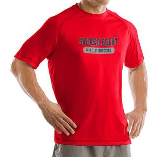Under Armour Sacred Heart Pioneers Mens Catalyst T Shirt