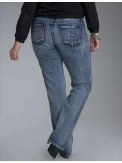LANE BRYANT   Seven7 Crystal S straight leg jeans