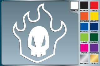Bleach RUKIA SKULL Logo cut vinyl decal sticker Anime