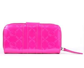 Loungefly ~ HELLO KITTY FUSCHIA PINK EMBOSSED WALLET