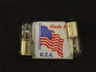 AMERICAN FLYER Train RR TIN Made USA Lamp Bulb x2 Free Ship