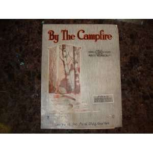 By the Campfire, 1914 Song Lyrics & Sheet Music Mabel Girling Books