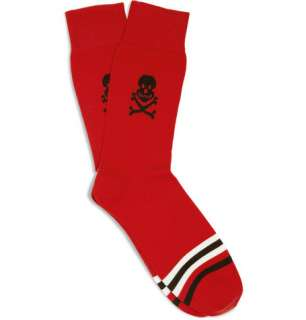 Accessories  Socks  Casual socks  Skull and Stripe