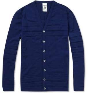 Clothing  Knitwear  Cardigans  Modulo Ribbed Wool Cardigan