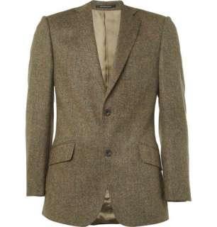 Clothing  Blazers  Single breasted  Donegal Wool Tweed Blazer