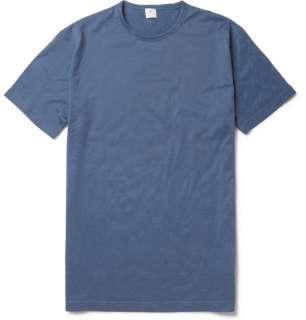 Clothing  Underwear  T shirts  Crew Neck Cotton T