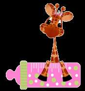 JUNGLE MONKEY GIRAFFE LION SAFARI NURSERY BABY GIRL WALL BORDER