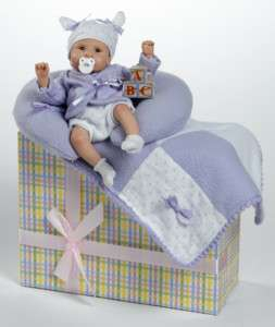 ABC is for Cute,Collectible Lifelike Baby Doll