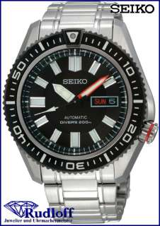 SEIKO 5 automatic Herren Uhr steel gents watch SKZ325 K1 DIVER WR