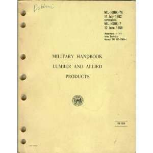 Department of the Army Technical Manual TM 715 5500 1): Department of