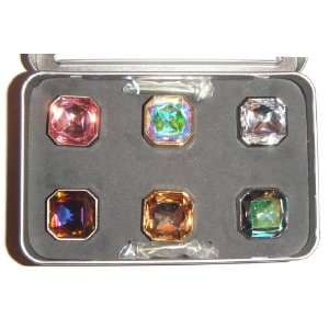 Bb Simon Set of Six Beautiful Swarovski Crystals