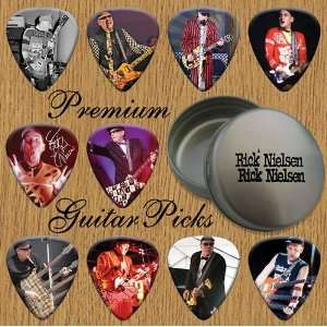 Rick Nielsen 10 Premium Guitar Picks In Tin (0) Musical